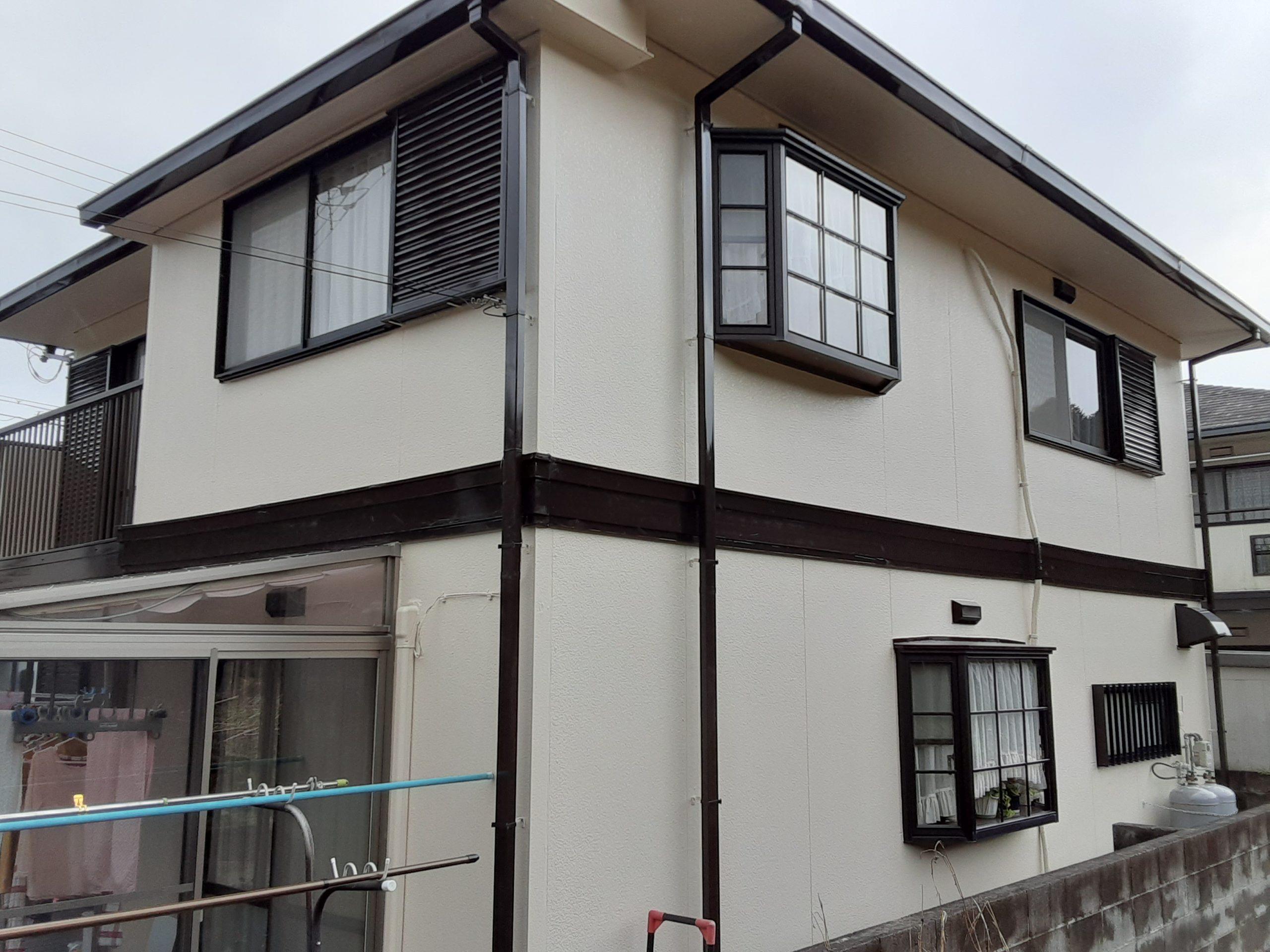 柏原屋根外壁塗装工事