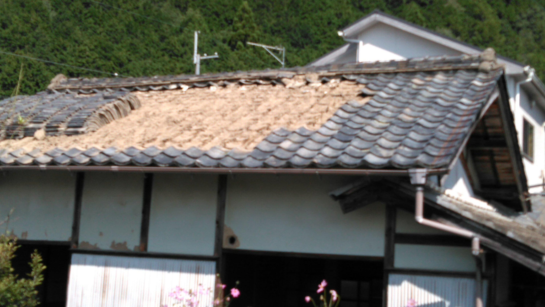 青垣 地区 解体工事。